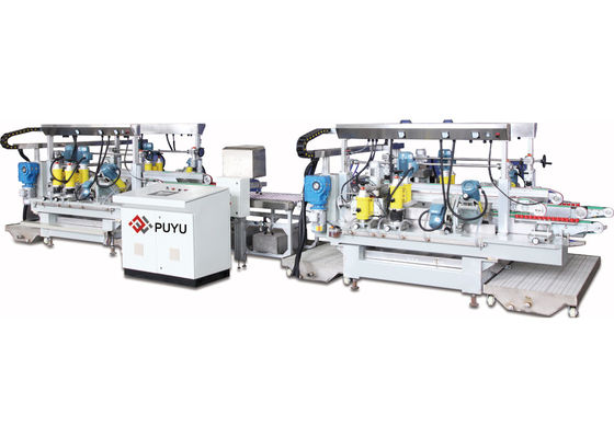 Automatic Electronic Glass Straight Line Merayap Mesin Dengan PLC
