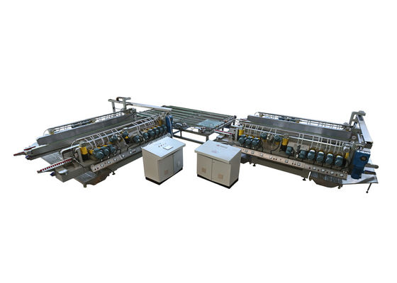 Cina Kaca Edge Polishing Machine Line untuk Grinding And Polishing Equipments Distributor
